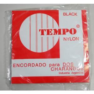 【メール便発送可能】チャランゴ用弦 ナイロン製【黒・1セットでチャランゴ2本分】 vivas