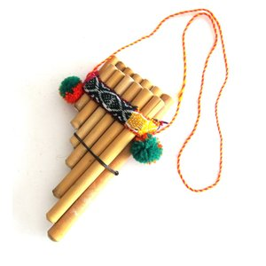 【ZAMPOnA ZA01】初心者用のミニ・サンポーニャ (6管+7管)★材質は葦★小さいお子様におすすめ。|vivas