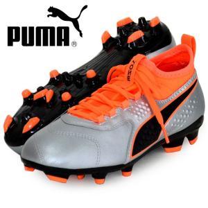 プーマ ワン 3 レザーHG JR PUMA プーマ ジュニア サッカースパイク18FW(104778-01)|vivasports
