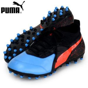 プーマ ワン 19.3 MG JR  PUMA プーマ ジュニア サッカースパイク 19SS(105499-01)|vivasports