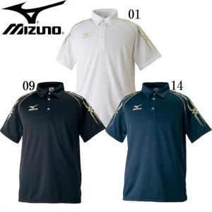 ポロシャツ(メンズ) MIZUNO ミズノトレーニングウエア ミズノ ポロシャツ18SS (32JA7077) vivasports