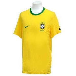 ブラジル代表 CREST 半袖Tシャツ  NIKE ナイキ ● サッカー レプリカウェア (888320-749)|vivasports