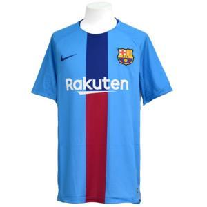 FC バルセロナ FCB SQUAD 半袖 トップ GX 2  NIKE ナイキ バルセロナ レプリカウェア 19SS(894323-482)|vivasports