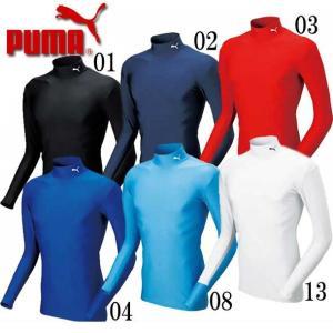 COMPRESSION モックネック LS シャツ  PUMA プーマ   サッカー インナーシャツ (920480)|vivasports