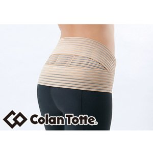 マグケアサポーター ウエストベルト (Colantotte) コラントッテ サポーター (腰の血行改善、コリに効く) (ABBFD)|vivasports