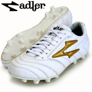 レッジオ MS adler アドラー サッカースパイク17FW(AD803-WHITE/GOLD)|vivasports