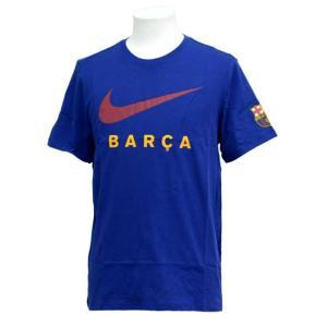 FCB ラージスウッシュ S/S Tシャツ NIKE ナイキ ● クラブチームウェア(AV5057-455)|vivasports