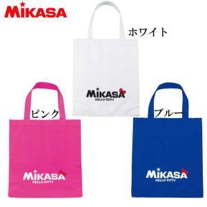 ハローキティコラボ レジャーバッグ 【MIKASA】ミカサ ナイロンバッグ 19FW (BA21-KT2/ホワイト/ピンク/ブルー) vivasports