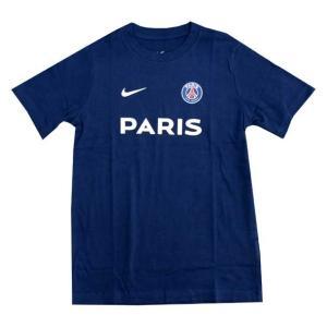 ジュニア PSG コア マッチ Tシャツ NIKE ナイキ ● クラブチームウェア(BQ0732-410)|vivasports