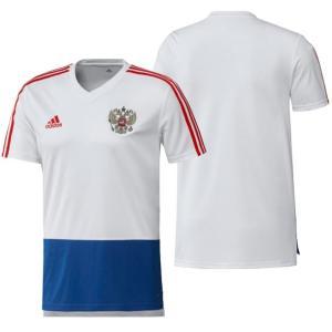 ロシア代表CONDIVO18トレーニングジャージー半袖 adidas アディダス サッカー レプリカウェア18SS(DRW29-CE8774)|vivasports