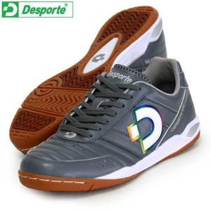 カンピーナス JP5  Desporte デスポルチ フットサルシューズ インドア 19FW(DS1430-C-GRY/RB)|vivasports