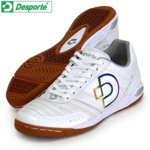 カンピーナス JP5  Desporte デスポルチ フットサルシューズ インドア 19FW(DS1430-PW/RB)|vivasports
