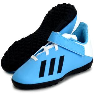 エックス 19.4 TF J ベルクロ adidas アディダス ジュニア サッカートレーニングシューズ X 19Q3(EF9126)|vivasports