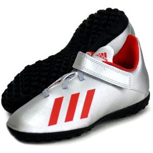エックス 19.4 TF J ベルクロ adidas アディダス ジュニア サッカートレーニングシューズ X 19Q3(EF9127)|vivasports