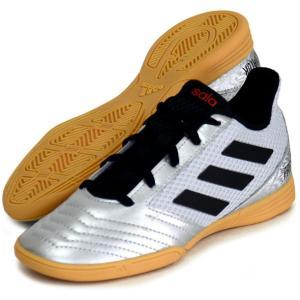 プレデター 19.4 IN サラ J adidas アディダス ジュニア フットサルシューズ インドア用  PREDATOR 19Q3(G25829)|vivasports