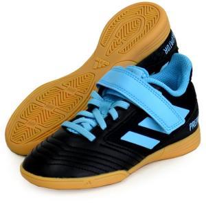 プレデター 19.4 IN サラ J ベルクロ adidas アディダス JRフットサルシューズ インドア用  PREDATOR 19Q3(G25831)|vivasports