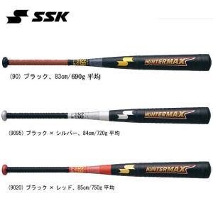 HUNTER MAX SSK エスエスケイ 一般軟式金属製バット※バットケース付き15SS(HMN00115)|vivasports