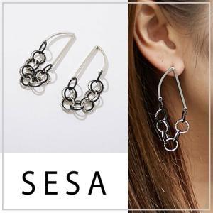 SESA セサ ニュームーンチェーンピアス|vivi-shop