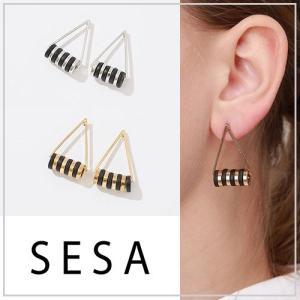 SESA セサ トライアングルマルチピアス|vivi-shop