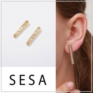 SESA セサ カットシェルピアス|vivi-shop