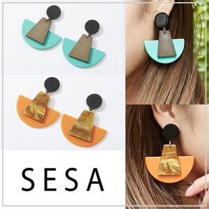 SESA セサ カラーオンカラーピアス|vivi-shop