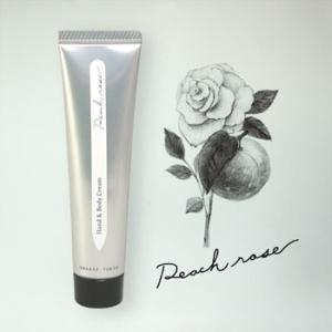 グラーストウキョウ ハンド&ボディクリーム Peach rose(ピーチローズ)
