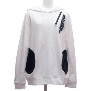 【SALE】パーカー PK 水玉 ドット メンズ レディース 細身 長袖