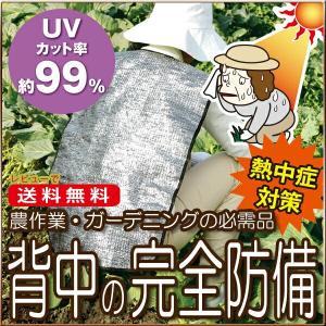 \国内正規品/ 2個セット  熱中症対策   暑さをハネ返す快適 背中カバー    ガーデニング 農作業 熱中症 対策 暑さ対策 夏 カバー シー|vivian1616