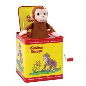 Curious George Jack in the Box by Schylling [並行輸入品]|vivian4988
