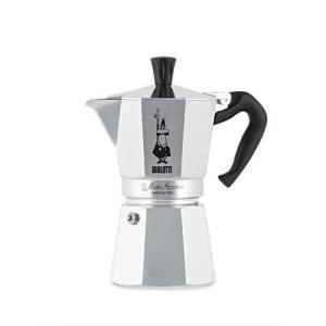 ビアレッティ エスプレッソメーカー 直火式 モカエキスプレス 6カップ用 コーヒー メーカー 0001163/AP|vivian4988