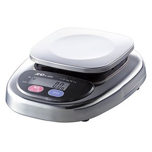 A&D 防塵・防水デジタルはかり HL-300WP ≪ひょう量:300g 最小表示:0.1g 皿寸法:128(W)*128(D)mm≫|vivian4988