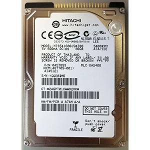 日立GST Travelstar 5K160(80GB/ATA100/5400rpm/8MB) HTS541680J9AT00 vivian4988
