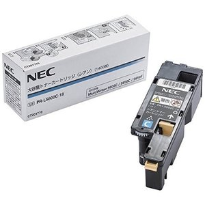 NEC PR-L5600C-18 大容量トナー シアン(1400枚) NE-TNL5600-18J vivian4988