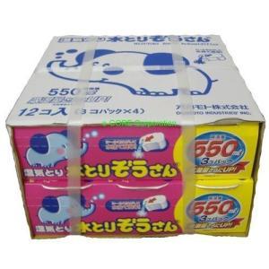 オカモト 水とりぞうさん 550mlx12個セット(3個パックx4)|vivian4988