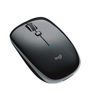 ロジクール ワイヤレスマウス 無線 薄型 マウス M557GR Bluetooth 6ボタン M55...