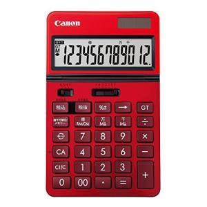 キヤノン KS-1220TU(RD) ビジネス電卓|vivian4988