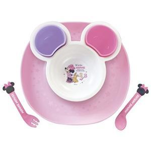 錦化成 ベビー食器 食べこぼしキャッチプレート ミニーマウス|vivian4988