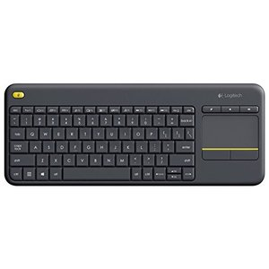 Logitech Wireless Touch Keyboard K400 Plus with Built-In Touchpad for Inter vivian4988