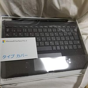 マイクロソフト 【純正】 Surface Pro 4用 タイプカバー ブラック QC7-00070 vivian4988