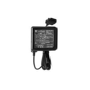 【ソフトバンク純正商品】3G機種対応ACアダプター (SHARP製) 国内海外兼用 100V-240V全世界対応タイプ バルク品 6301 ZTDAA|vivian4988