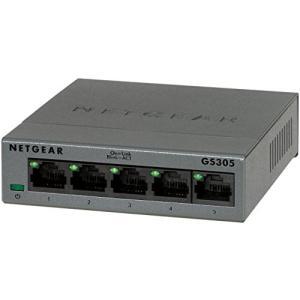 NETGEAR Inc. GS305 ギガビット5ポートLayer2アンマネージ・スイッチ GS30...
