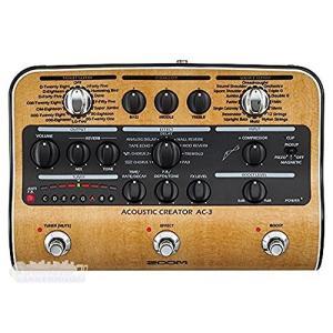ZOOM ズーム Acoustic Creator アコースティックギター用プリアンプ AC-3
