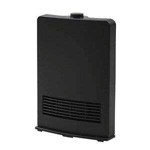 山善 セラミックヒーター(1200W/600W 2段階切替) ブラック DF-J121(B)|vivian4988