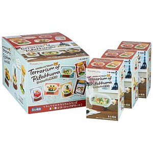 リラックマ Terrarium of Rilakkuma ヨーロッパの旅気分 BOX商品 1BOX=6個入り、全6種類|vivian4988
