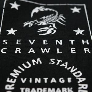アメカジ/セブンスクローラー/メンズ ロンT ロングTシャツ 長袖/正規品 ブラック|vividstyle|04
