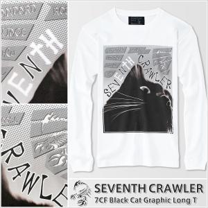 アメカジ/セブンスクローラー/メンズ ロンT ロングTシャツ 長袖/正規品 ホワイト vividstyle