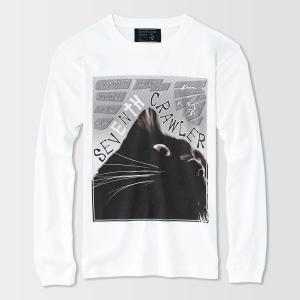 アメカジ/セブンスクローラー/メンズ ロンT ロングTシャツ 長袖/正規品 ホワイト vividstyle 02