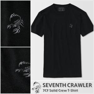 Tシャツ メンズ 半袖 アメカジ ブランド セブンスクローラー 正規品 ブラック vividstyle