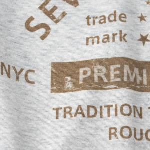 アメカジ/セブンスクローラー/メンズ Tシャツ 半袖/正規品 ベージュ|vividstyle|03