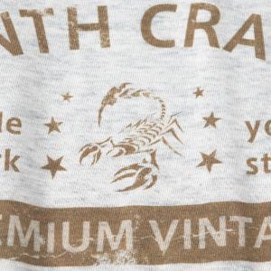 アメカジ/セブンスクローラー/メンズ Tシャツ 半袖/正規品 ベージュ|vividstyle|04